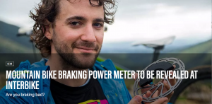 A scientist from New Zealand's Massey University has invented the world's first braking power meter.