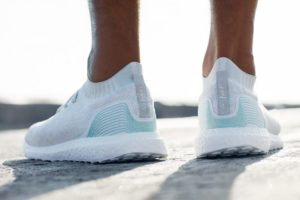 Adidas Makes Running Shoes from Recycled Ocean Plastic