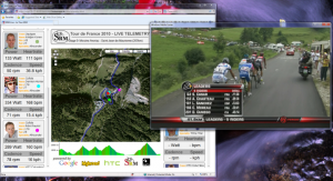 Behind the scenes of Team HTC-Columbia and the Tour de France Live Tracker