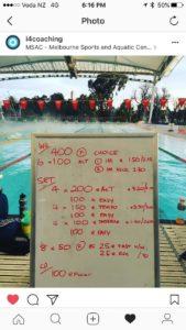 Tri Swim Training